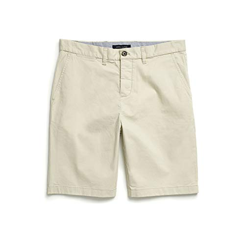 - Tommy Hilfiger Men's Adaptive Short with Velcro Brand Closure and Magnetic Fly, SAND KHAKI, 40