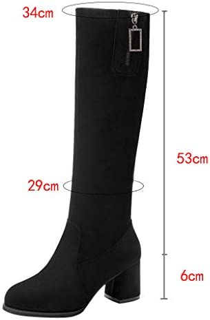 Women Solid Knee-High Boot Clearance