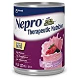 Nepro with Carb Steady Complete Nutrition, Mixed Berry, Case of 24 Cans (Packaging May Vary)