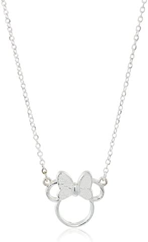 Disney Sterling Silver Silhouette Necklace product image