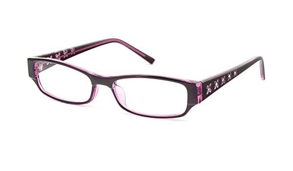 22b6594cf7c Amazon.com  Ladies Full Rimmed Designer Glasses Frames (Suitable For  Prescription Lenses) by Nuspecs Ladies Glasses Frames  Health   Personal  Care