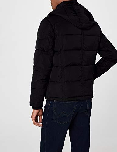 Homme black 01 Wrangler Noir Blouson Protector Jacket qFXww6xStB