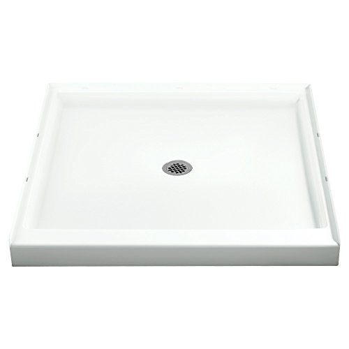 Sterling Plumbing 72151100-0 42-Inch Shower Base Vikrell Center Drain, White