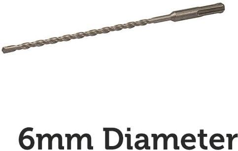 6mm X 210mm Sds Plus Masonry Drill Bit Stone For Concrete Cement Brick
