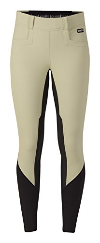 - Kerrits Ladies Griptek Ii Fullseat Breeches XL Tan