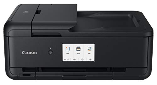 Canon PIXMA TS9520 Wireless Photo All In one Printer | Scanner | Copier | Mobile Printing with AirPrint and Google Cloud Print, Black by Canon (Image #1)