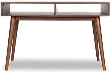 ASHCROFT Mid Century Modern Jadon Wood Study Desk