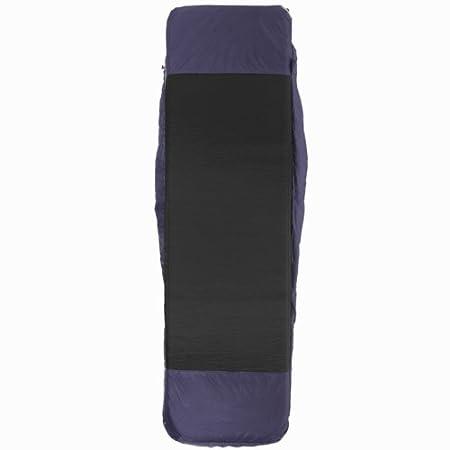 QUECHUA 15º - Cama individual (incluye saco de dormir y colchón, tamaño L, hasta 185 cm), color violeta: Amazon.es: Deportes y aire libre