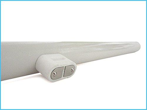 Lampada Tubolare Led : Lampada led tubolare s s d mm attacco unico bianco caldo w
