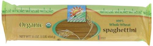 - bionaturae Organic 100% Whole Wheat Spaghettini, 16 Ounce Bags (Pack of 12)