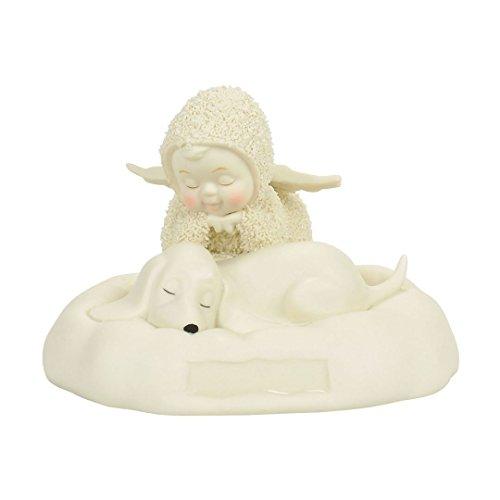 "Department 56 Snowbabies ""A Dog's Life"" Porcelain Figurine, - Dog Figurine Friends"