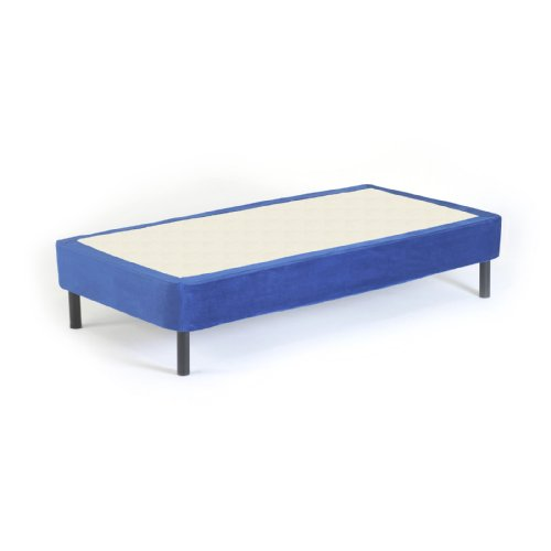 Memory Foam Kidz Cover for Twin Box Spring or Metal Foundation, Blue