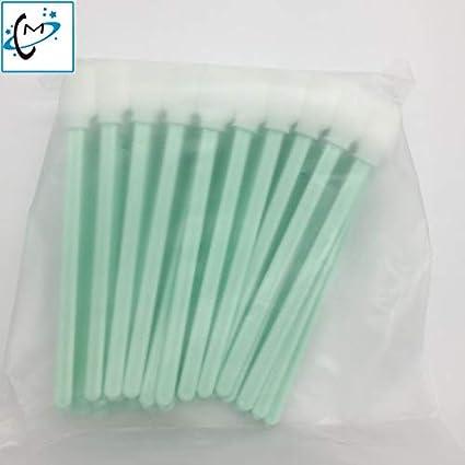 Yoton - Juego de 50 cepillos de tinta para limpieza de ...