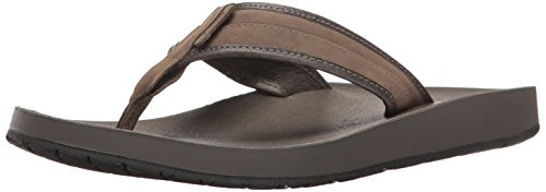 Teva Men M Azure Flip Leather Sandal Bungee Cord