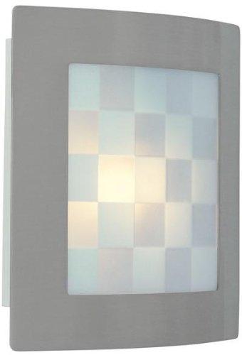 Wall 13w Cfl (Swing-Arm Wall Lamp Aged Copper E27 Cfl 13W)