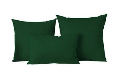 The Pecan Man Set of 3 Hunter Green Throw Fashion Pillow Cover Case Cushion Sofa Home Bed Decorative (Cowboys Jersey Sham)