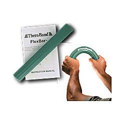 Thera-Band Exerciseur main Flexbar - Coude de secours Tennis Bar Vert moyen