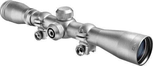 BARSKA 4x32 Plinker 22 Riflescope Silver