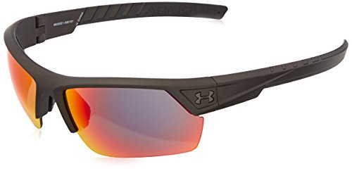 Under Armour Ua Igniter 2.0 Wrap Sunglasses, Gray/Red, 62 - For Sunglasses Players Baseball