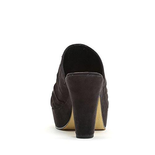 PRENDIMI by Scarpe&Scarpe - Zuecos con fruncido Negro