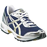 Cheap ASICS Men's GEL-Cumulus VIII Running Shoes – SIZE: 12, COLOR: Ink/M Gold/Silver