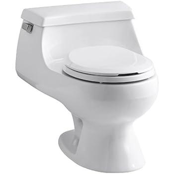 Rialto One Piece Round Front 1 6 Gpf Toilet With Rim Jet