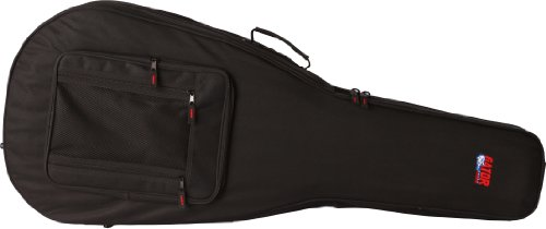 Gator Cases Lightweight Polyfoam Guitar Case for SG Double Cut-Away Electric Guitars (GL-SG)