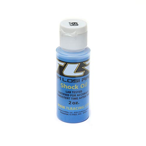 Team Losi Racing Silicone Shock Oil, 60wt, 2oz, TLR74014