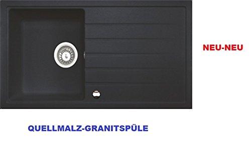 Maße Spüle hochwertige granitspüle maße 860 x 500 cm modell victory 2 farbe