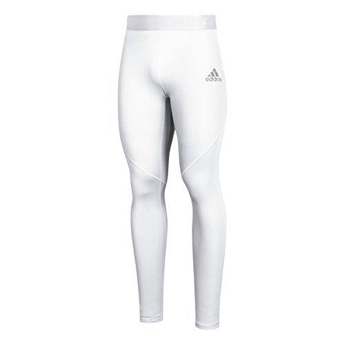adidas AlphaSkin Long Tight Mens Training M White
