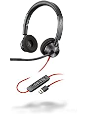 Plantronics BW3320 USB-A Black, Stereo