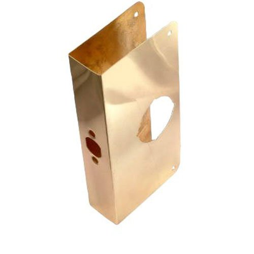 Belwith Products 2002-PB Door Reinforcer, 9-Inch, Polished Brass ()