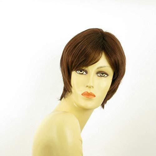 univers perruque Short Wig For Women Dark Brown Copper Ref Fanny 31