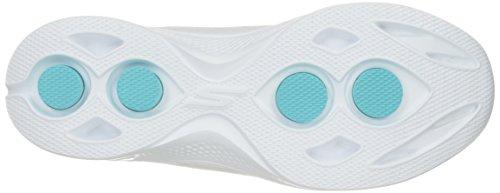 Skechers Go Walk 4 Premier Damen Sportschuh Sneaker White/Silver Gr 36 - 43
