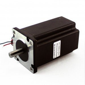 Nema 23, Dual Shaft Stepper Motor 570 Oz-in, KL23H2100-50-4BM by Automation Technology Inc.