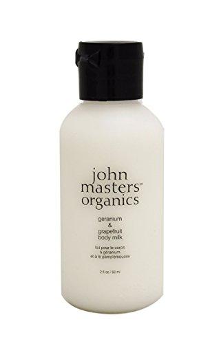 John Masters Organics Geranium & Grapefruit Body Milk, 2 oz.
