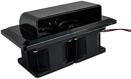 Shumo Ventilador de VentilacióN de VentilacióN Lateral Negra de 1 ...