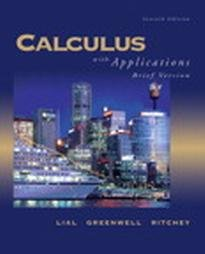 Price comparison product image Calculus: With Applications, Brief
