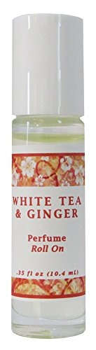 White Tea & Ginger Perfume Oil Roll On