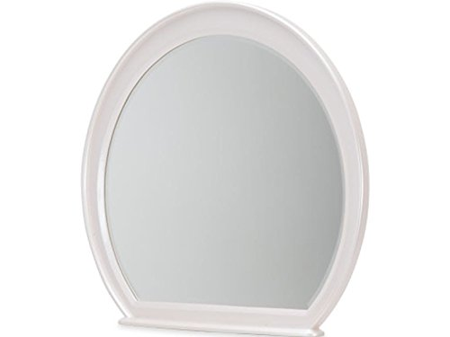 - Michael Amini- Aico Furniture Glimmering Heights Dresser Mirror in Ivory
