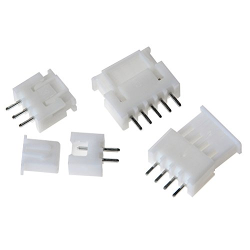 560pcs 2.54mm Pitch Connector Pin Housing Terminal Kit JST-XHP 2//3//4 Header Wire