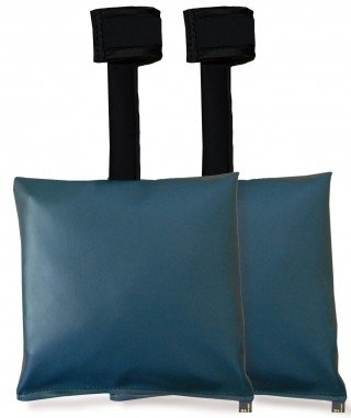 Patient Positioning Sandbags - Set of 2 Sandbags, 10-lb 11'' x 11'', Available in 6 Colors by Colortrieve (Image #1)