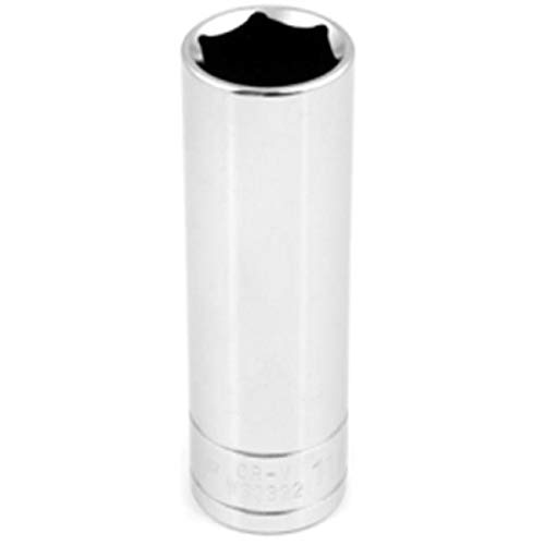 DenDesigns 6 Point Deep Chrome Socket, 0.5 in. from DenDesigns