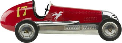 781934579441 - 20.75 in. Length - BB Korn - 1930s Racer Replica - Red - Authentic Models PC013R carousel main 0