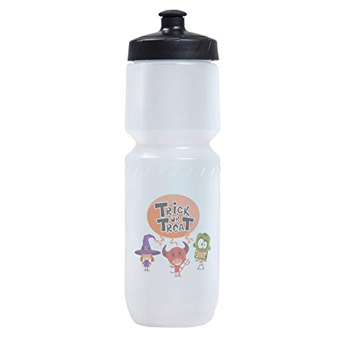 Sports Beverage Water Cycle Bottle Halloween Trick or Treat -