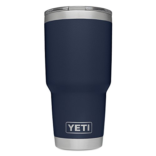 62ab3d07b79 YETI Rambler 30 oz Stainless Steel Vacuum Insulated Tumbler w/MagSlider  Lid, Navy