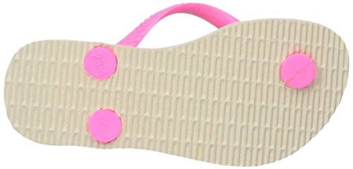 Pictures of Havaianas Kids Slim Fashion Sandal Beige/Pink 8 M US 7