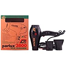 Parlux PAR4014 Professional 3800 Ionic and Ceramic Hair Dryer, Black, 2100 Watt