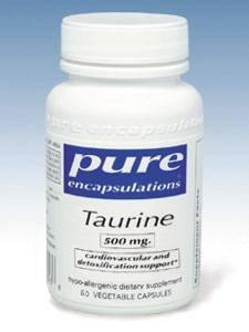 Pure Encapsulations Taurine 500 mg - 60 capsules