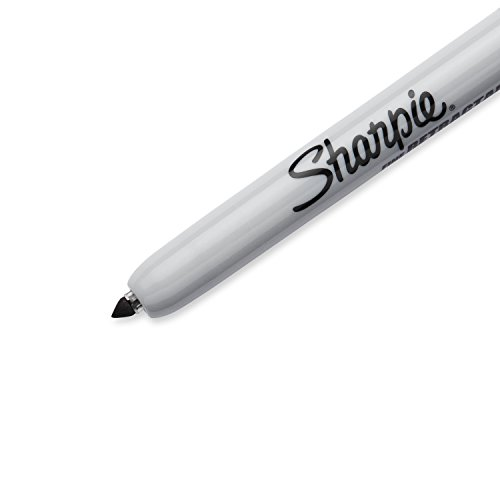 Sharpie Retractable Permanent Markers, Fine Point, Black, 36 Count by Sharpie (Image #3)